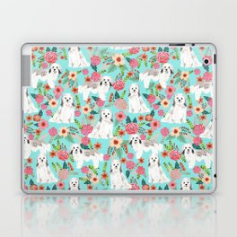 Havanese floral dog breed pure breed dog gifts Laptop & iPad Skin