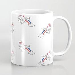 Pooping Unicorns Coffee Mug