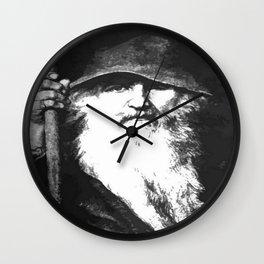 Scandinavian Mythology the Ancient God Odin Wall Clock