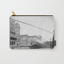 Empire State Express (New York Central Railroad) coming thru Washington Street, Syracuse, N.Y. Carry-All Pouch
