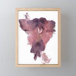 Verronica's Vulva Print No.3 Framed Mini Art Print