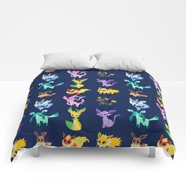 eevee evolutions Comforters