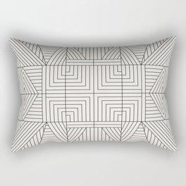 LINE MANDALA Rectangular Pillow