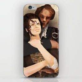 Outlander Fan Art iPhone Skin