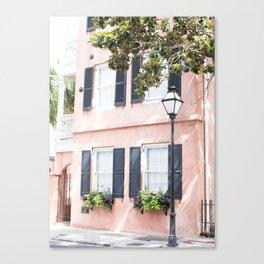 The Peach House - Charleston, SC Canvas Print
