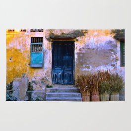 Chinese Facade of Hoi An in Vietnam Rug