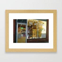 the art studio Framed Art Print