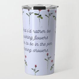flower pusher Travel Mug
