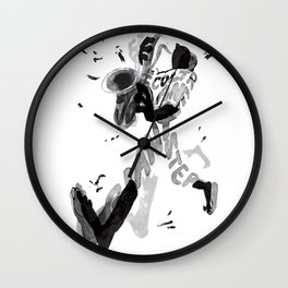 Giant step Wall Clock