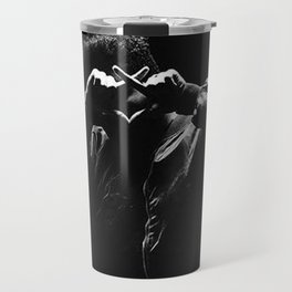 The Weeknd Abel Makkonen portrait Travel Mug