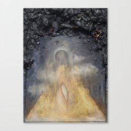 Kenosis (Birth from an Eclipse) Canvas Print