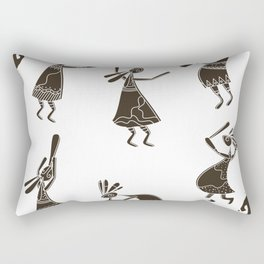 kokopelli Rectangular Pillow
