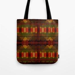 """""""Full Colors Tribal Pattern"""" Tote Bag"""