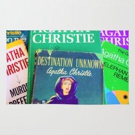 Destination Unknown - Vintage Agatha Christie Rug
