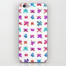 Teeny Butteflies iPhone Skin
