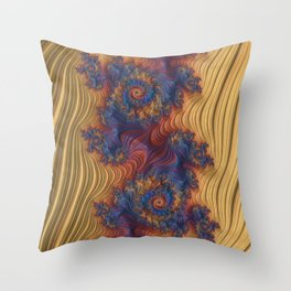 Foreverness Of Fractals 03 Throw Pillow