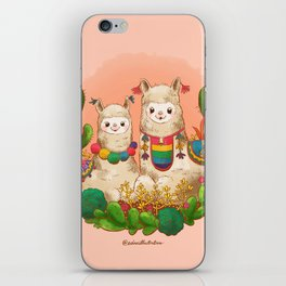 Alpaca Siblings iPhone Skin