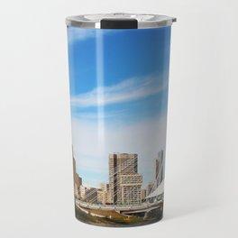Downtown Winnipeg 2 Picture Panorama Travel Mug