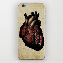 Heart art iPhone Skin
