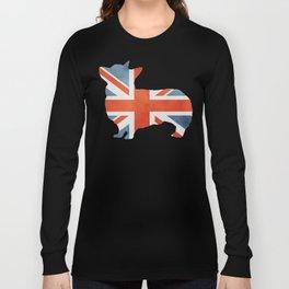 Union Jack Corgi Long Sleeve T-shirt