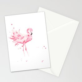 Dancing Flamingo Stationery Cards