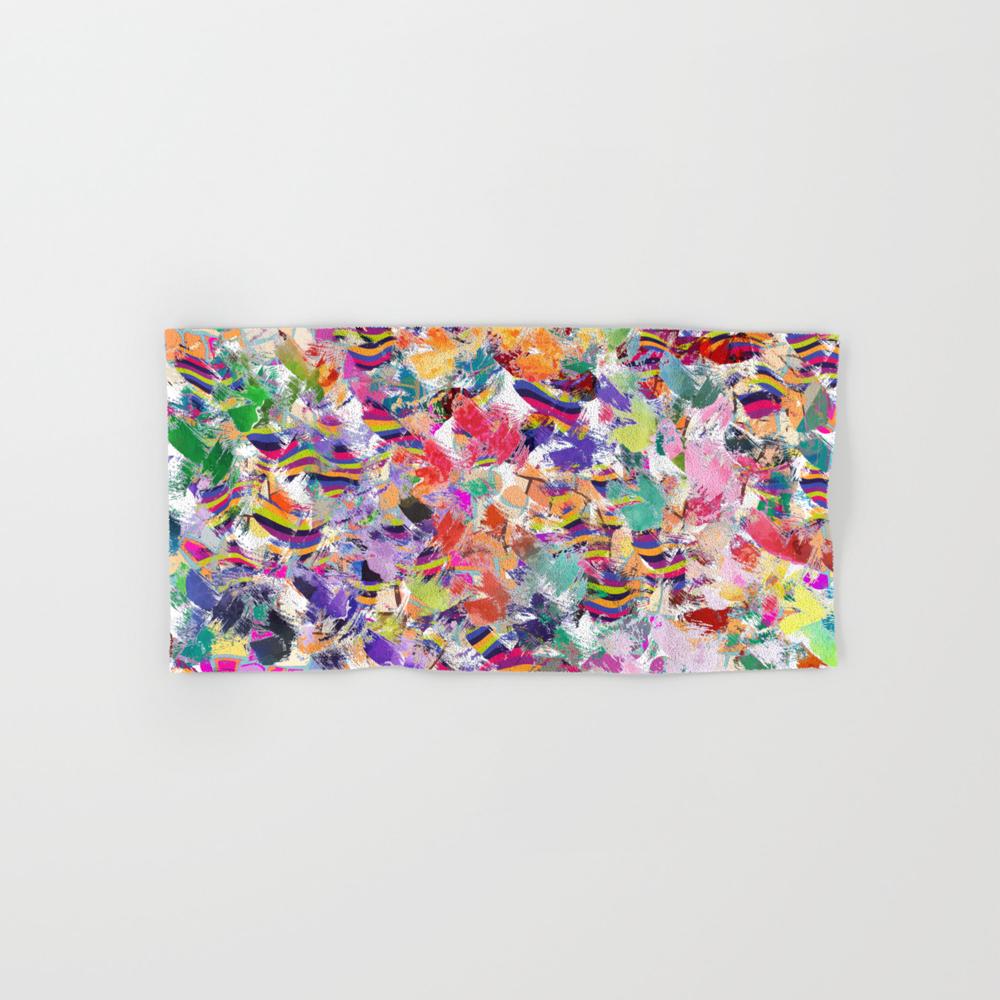 Broken Cups Hand Towel by Lalachandra BTL8601741