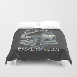 Books Collection: Sherlock Holmes Duvet Cover