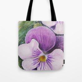 Viola Tricolor Tote Bag