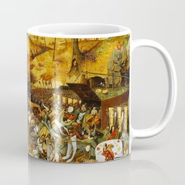 Vivid Retro - The Triumph of Death Coffee Mug