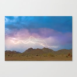Monsoon Overture II Canvas Print