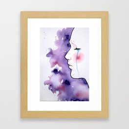Disposition Framed Art Print