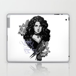 Lilac and gooseberry Laptop & iPad Skin