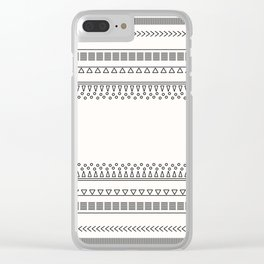 Tribal Pattern of Balondo Clear iPhone Case
