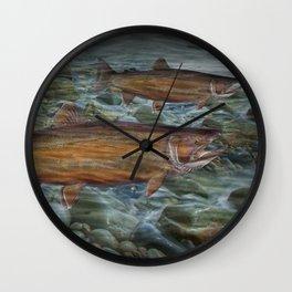 Steelhead Trout Migration in Fall Wall Clock