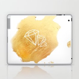 Faceted Gold Laptop & iPad Skin