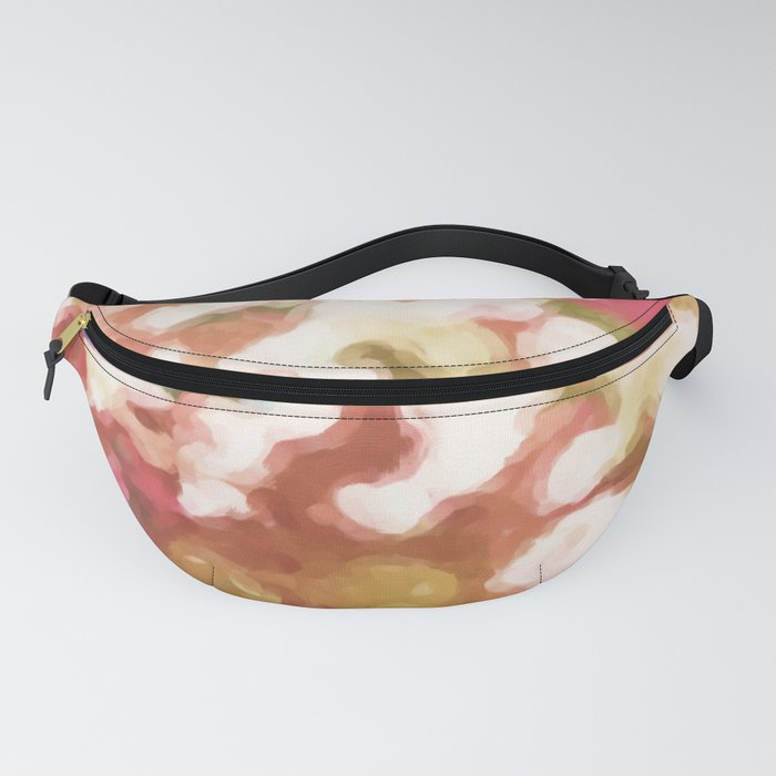 Colorful Pop Bubbles Abstract Fanny Pack