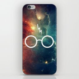 Lightning Scar Nebula HP iPhone Skin