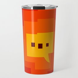 interesting background main color interaction Travel Mug