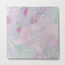 Drop Top - Pink Metal Print