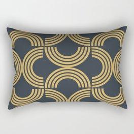 Deco Geometric 01 Rectangular Pillow