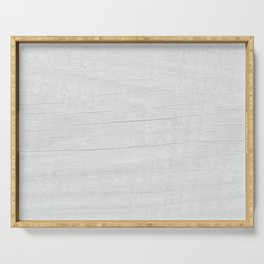 Gray Weathered Wood Serving Tray