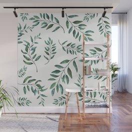 Leaves 3 Wall Mural