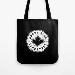 North Side Lifestyle (white) Tote Bag