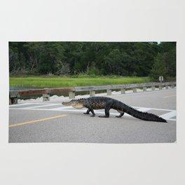 Alligator Right Of Way Rug