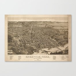 Knoxville 1866 Canvas Print
