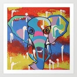 Elly Color Art Print