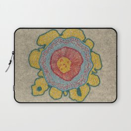 Growing - Pinus 1 - plant cell embroidery Laptop Sleeve