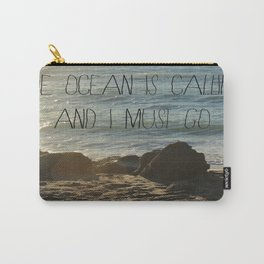 The Ocean is Calling Carry-All Pouch
