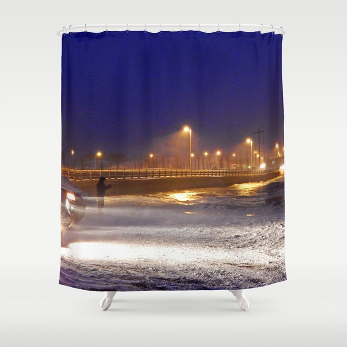 Storm Watch  Shower Curtain