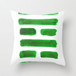 The Family - I Ching - Hexagram 37 Throw Pillow